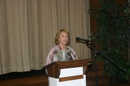 Outgoing President Jackie Wickham reflects on her year as president.